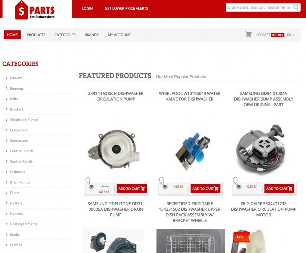 PartsForDishwashers.com